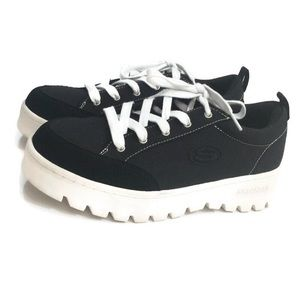 Skechers Lucky Street Cleat Platform Sneakers NWOT